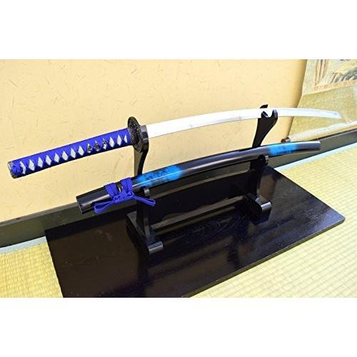 模造刀-美術刀 時雨 [しぐれ]・大刀 -青 Marble-