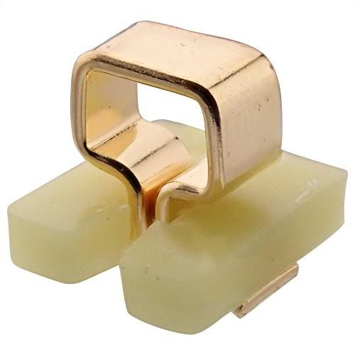 マックエイト 自動挿入機用、表面実装用カラーチェック端子 HK-5-G 黄