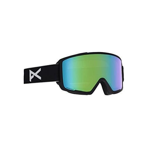 超美品 Anon(アノン) スノーボード スキー ゴーグル メンズ M3 ASIAN FIT WITH SPARE 2018-19年モデル BLACK/SONAR GREEN, あす花明日に届けるお花屋さん cef8a42c