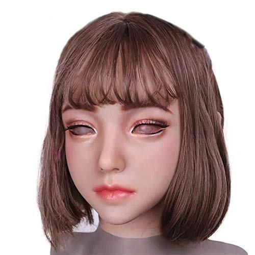 フィメールマスク 正規品 女装マスク メイク 男の娘 シリコンマスク 変装 仮装 JOSSO正規品