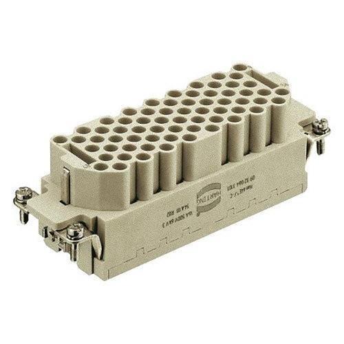HARTING 電源コネクタ メス 64極 16A 500V 9322643101