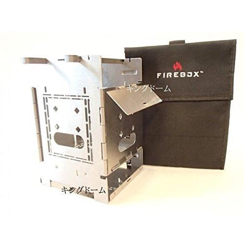 FIREBOX(ファイヤーボックス) バーベキューコンロ・焚火台 G2 ストーブ本体+専用ケース 5インチ ウッドストーブ 2