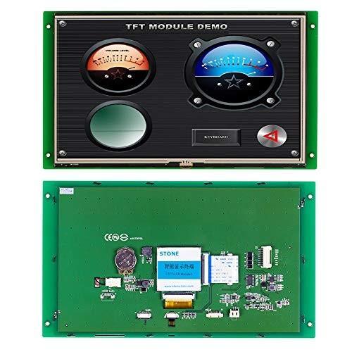 10.1インチTFT LCDディスプレイモジュールコントローラプログラムタッチ UARTシリアルインタフェース