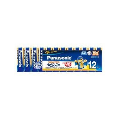 パナソニック 【ケース販売特価 360本セット(12本入×30)】アルカリ乾電池 《EVOLTA》 単3形 シュリンクタイプ LR6EJ/12SW_30set