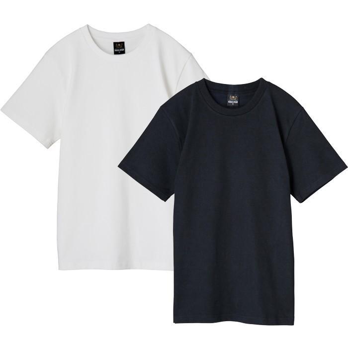 クルーネック半袖無地Tシャツ