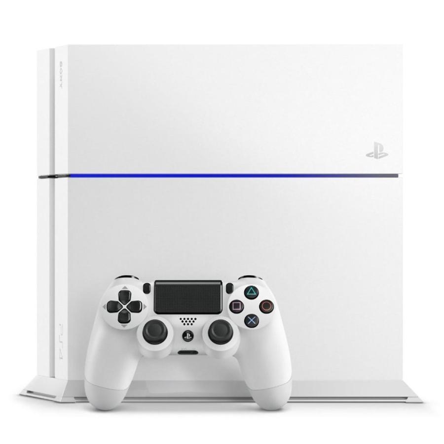 PS4 プレステ4 PlayStation 4 グレイシャー・ホワイト CUH-1200AB02 付属品欠品なし