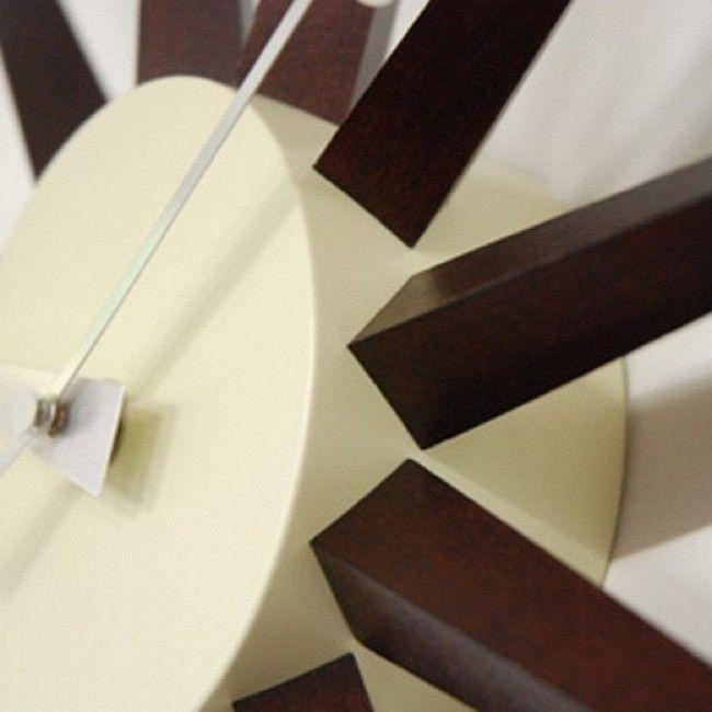 ジョージネルソン サンバーストクロック ウォールナット ウォルナット  掛け時計 正規ライセンス品|eameschair-y|03