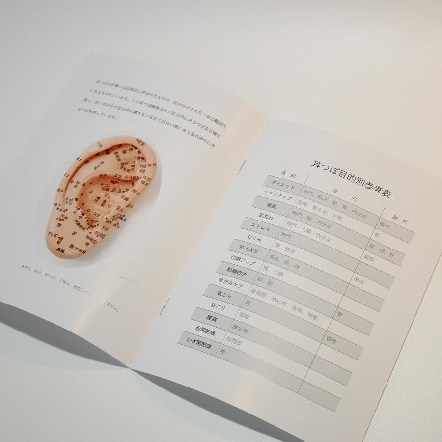 ◆Beautear Pro◆ 5点セット販売 耳つぼ模型 日本語版 17cmサイズ 日本語表記 耳模型 耳介図 Beautear|ear-heartdrop|04