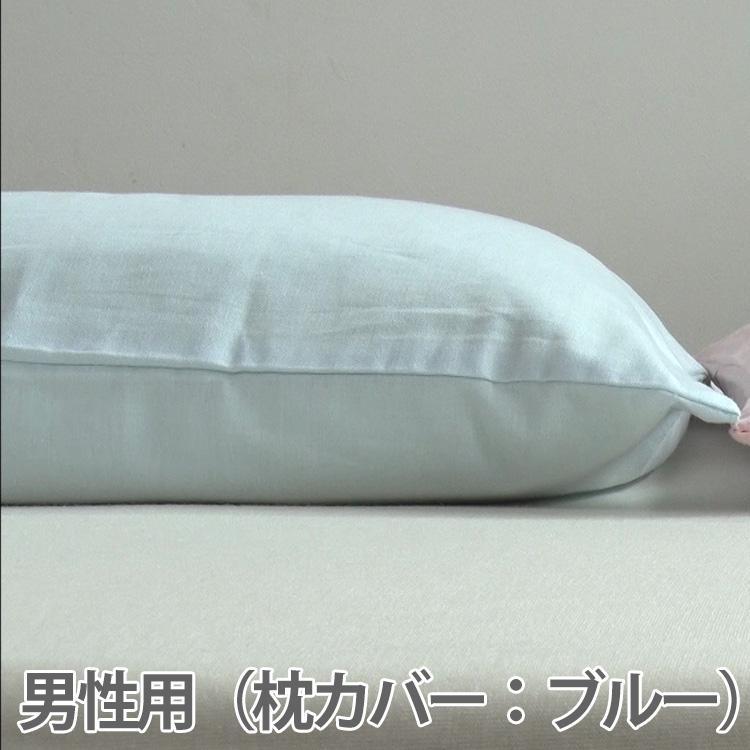 ねむり家 肩腰楽まくら+Cerami.D.A加工枕カバーのコラボ商品|earthwith