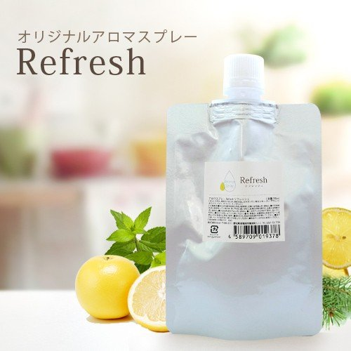 OUTLET SALE アロマスプレー Refresh 激安超特価 リフィル 詰め替え☆メール便可 90ml
