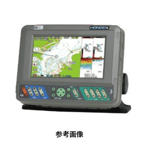 ホンデックス HONDEX PS-700GP-Di 7型 ワイド GPSプロッタ 魚探 アンテナ内蔵