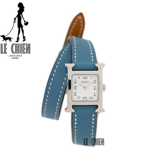 【1着でも送料無料】 新品 エルメス HERMES 腕時計 HH1.110.131/WW752 Hウォッチ, 中標津町 09cf3b57