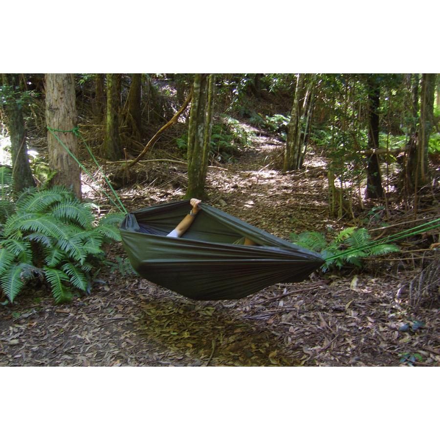 日本正規品 DDハンモック Camping Hammock キャンピングハンモック オリーブグリーン キャンプ アウトドア 蚊帳 送料無料 初期不良保証&5年アフターサービス|easthilll|08