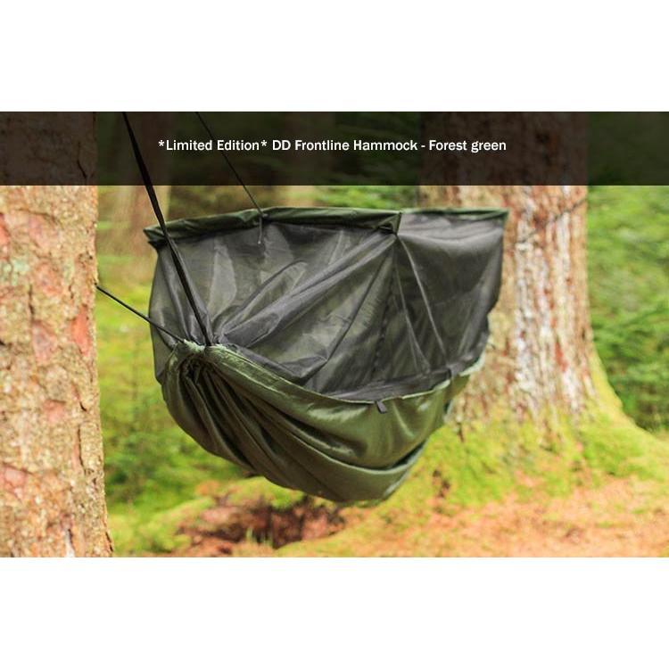 日本正規品 DDハンモック  Frontline Hammock フロントラインハンモック 5カラー キャンプ アウトドア 蚊帳 送料無料 初期不良保証&5年アフターサービス easthilll 10