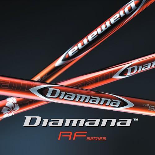 日本仕様 三菱ケミカル ディアマナ Diamana RFシリーズ ウッド用 カーボン シャフト単品