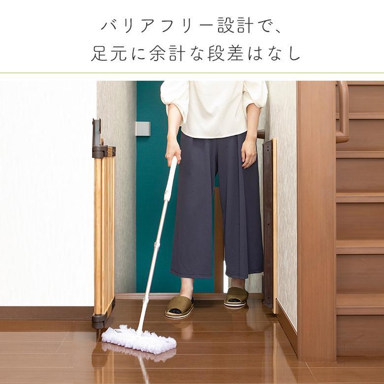 ベビーゲート 木製バリアフリーゲート Oridoor(オリドー) 日本育児|ebaby-select|05