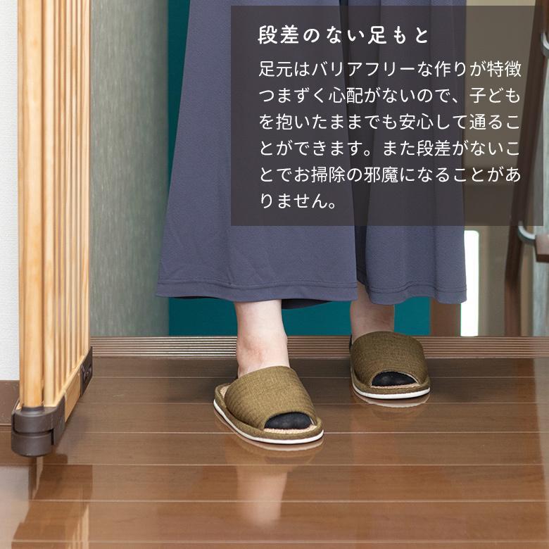 ベビーゲート 木製バリアフリーゲート Oridoor(オリドー) 日本育児|ebaby-select|06