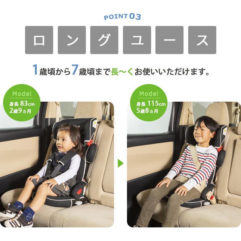チャイルドシート ISOFIX対応 コンパクト トラベルベストEC Fix 収納袋付き  日本育児 ebaby-select 06