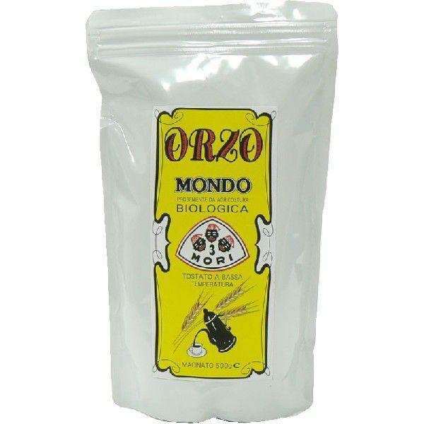 イタリアン大麦飲料 オルゾ(ORZO)・モンド・BIO 500g お徳用パッケージ 顆粒タイプ|ebalance