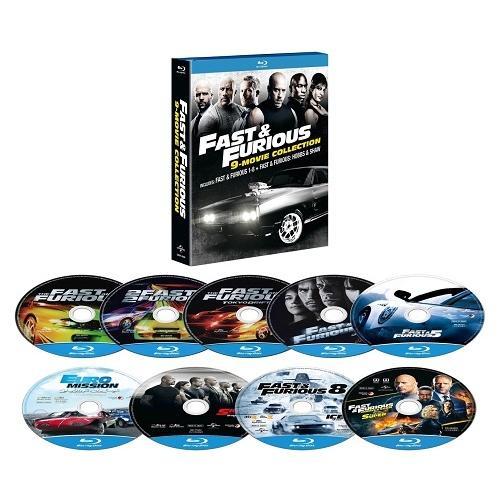 ワイルド 新作アイテム毎日更新 スピード 希望者のみラッピング無料 9ムービー ブルーレイ Blu−ray Disc コレクション