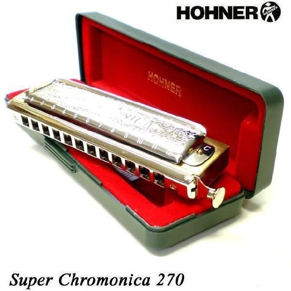 品質検査済 HOHNER ホーナー 返品送料無料 Super Chromonica クロマチックハーモニカ C調 270 48