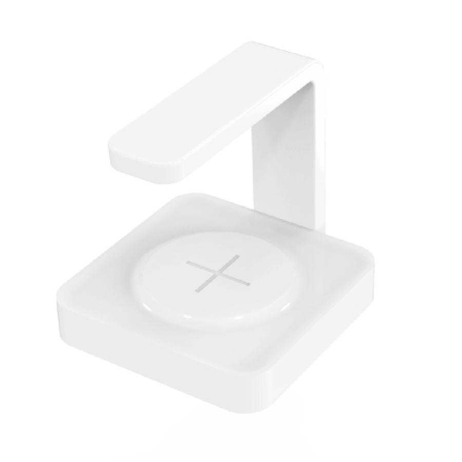 【安心のオリジナル保証】スマートフォン 向け紫外線UV除菌ライト付きワイヤレスチャージャー 充電 UVライト Qi 消毒 有線USB充電も可能|ebisudenki|05