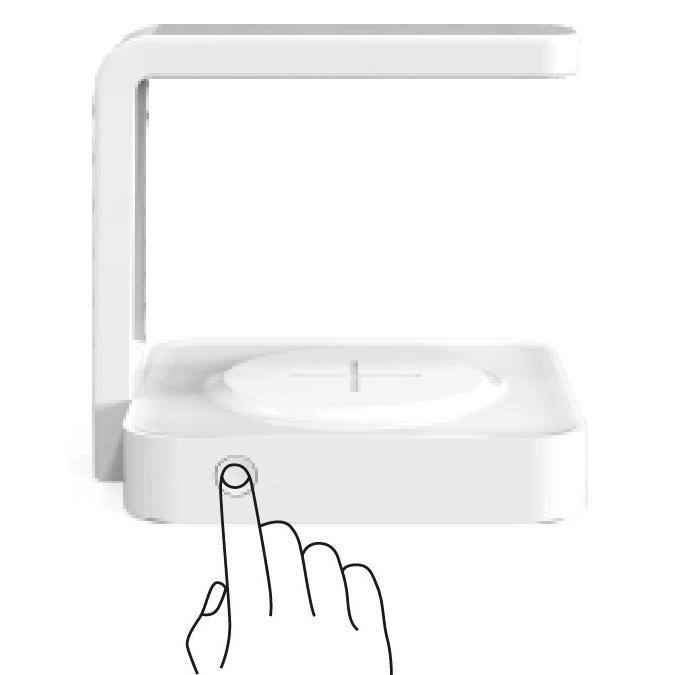 【安心のオリジナル保証】スマートフォン 向け紫外線UV除菌ライト付きワイヤレスチャージャー 充電 UVライト Qi 消毒 有線USB充電も可能|ebisudenki|07