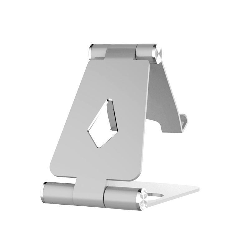 【送料無料】スマホスタンド スマホホルダー タブレットにも対応(4〜11インチ) 卓上 携帯 角度調整 アルミ 充電器 おしゃれ 折りたたみ 滑り止め 軽量 軽い|ebisudenki|03