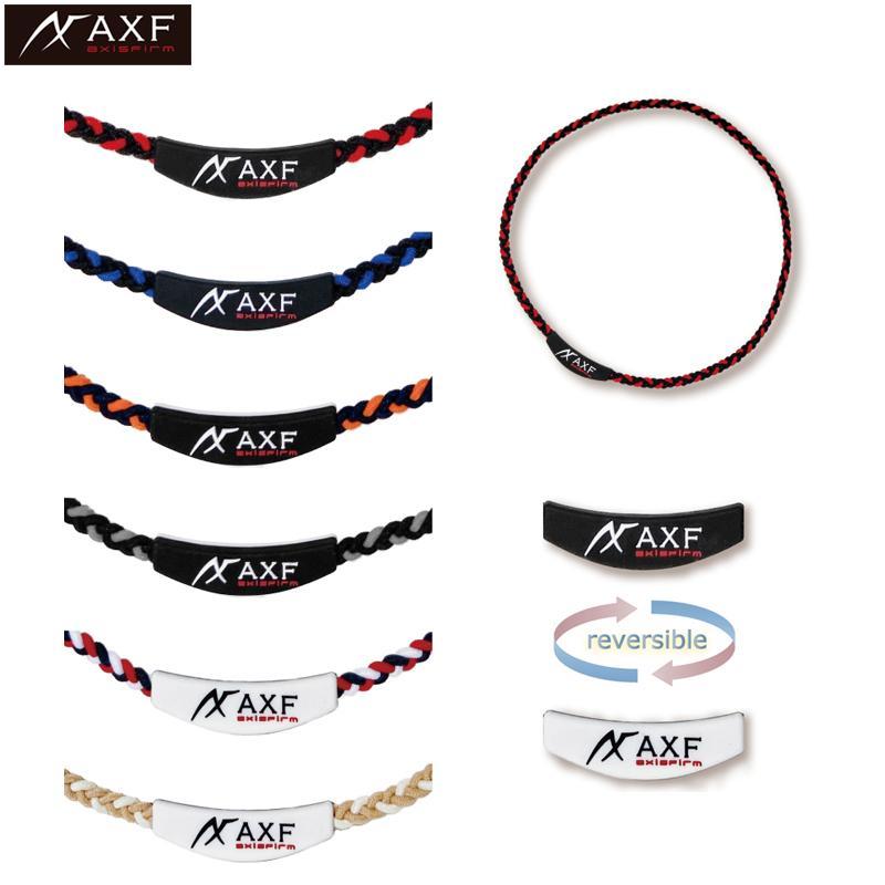 アクセフ 人気海外一番 カラーバンドRS メンズ レディース axisfirm 2260009 当店限定販売 AXF スポーツネックレス