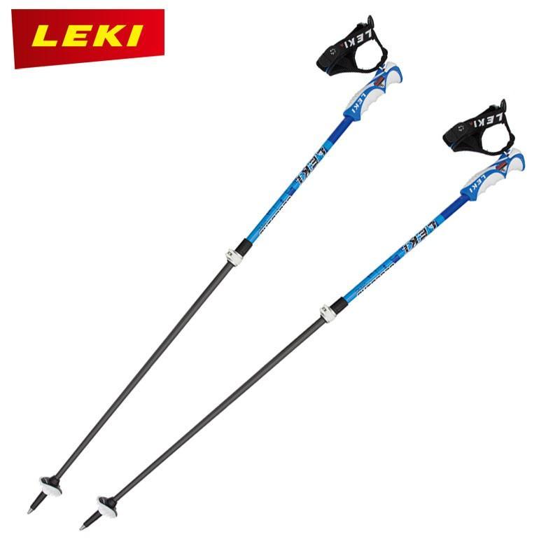 LEKI LEKI LEKI レキ スキーポール 青 BIRD VARIO S 632-3672 9e2
