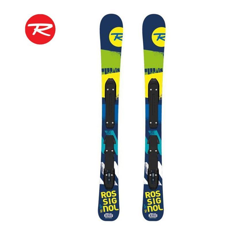 旧モデル特別価格 ROSSIGNOL ロシニョー キッズ スキー・ビンディング 2点セット TERRAINBOY-KID-X45 RAWV01 80cm・92cm 2015-16モデル