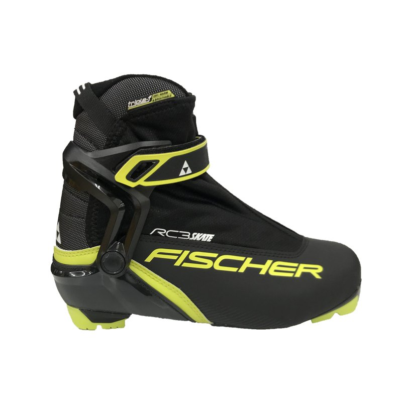 輝く高品質な フィッシャークロスカントリースキーブーツRC3スケートRC3 SKATES156172018-2019 MODEL, わびすけ f2c95a5c