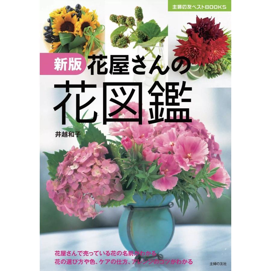 【初回50%OFFクーポン】新版 花屋さんの花図鑑 電子書籍版 / 井越和子|ebookjapan
