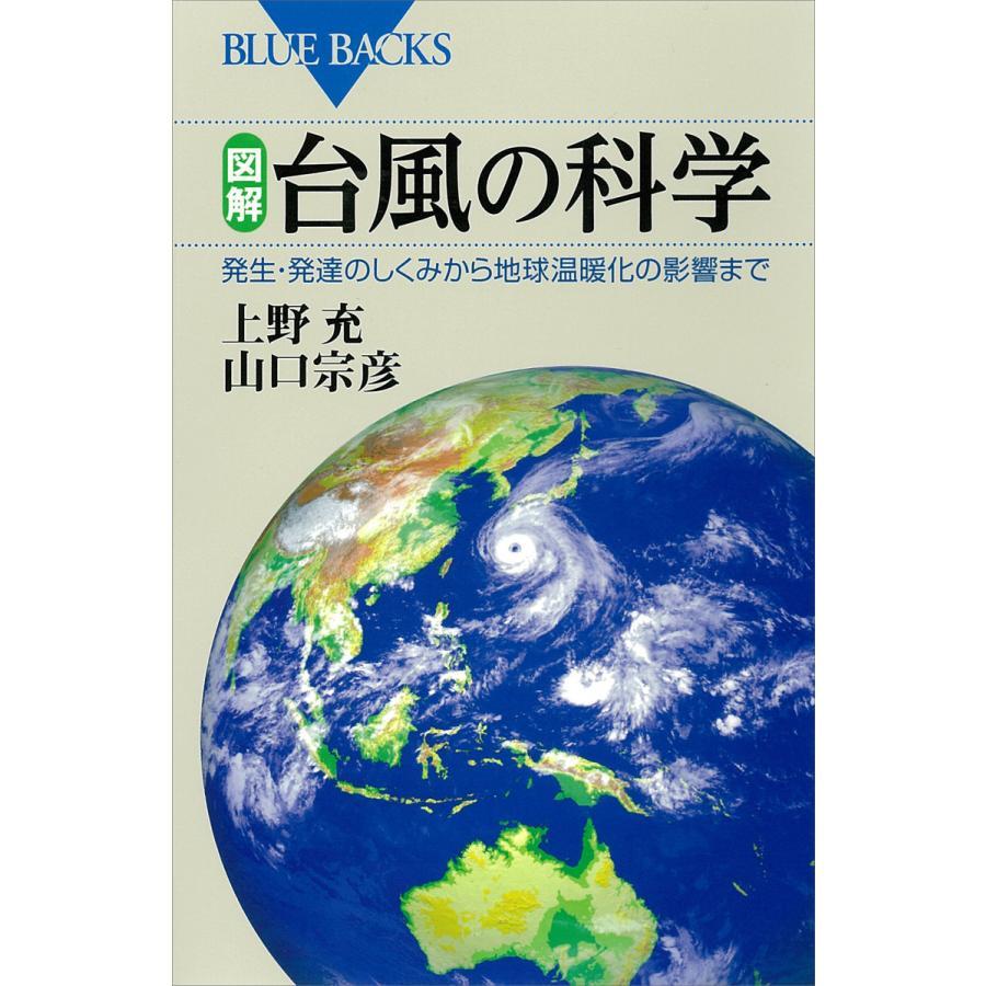 超特価 初回50%OFFクーポン 図解 台風の科学 発生 山口宗彦 発達のしくみから地球温暖化の影響まで 上野充 電子書籍版 セール