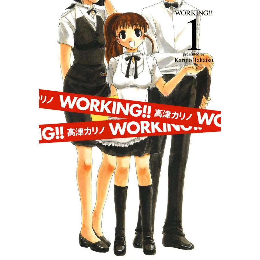 WORKING!! (全巻) 電子書籍版 / 高津カリノ|ebookjapan