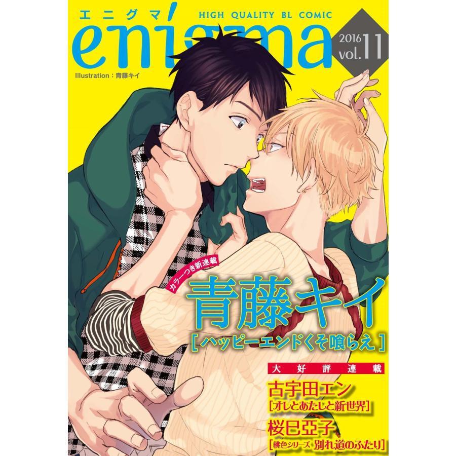 【初回50%OFFクーポン】enigma vol.11 電子書籍版 / エニグマヴォリュームジュウイチ|ebookjapan