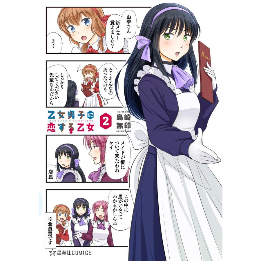 乙女男子に恋する乙女 (2) 電子書籍版 / 島崎無印|ebookjapan