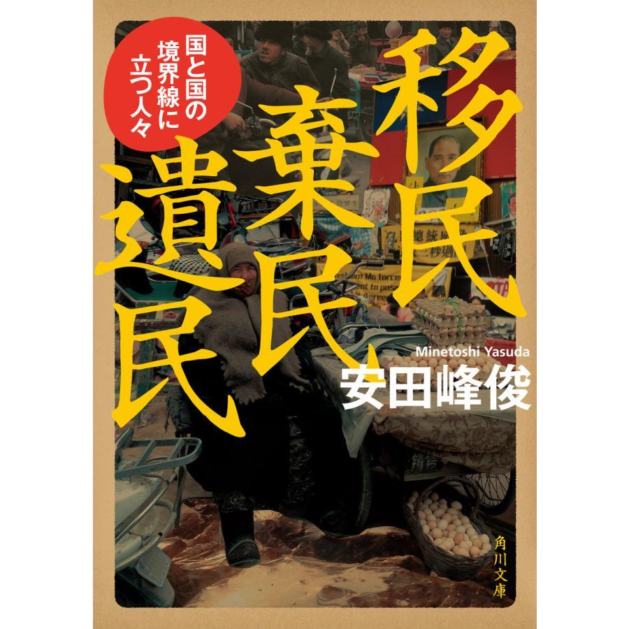 移民 棄民 遺民 国と国の境界線に立つ人々 電子書籍版 / 著者:安田峰俊 ebookjapan