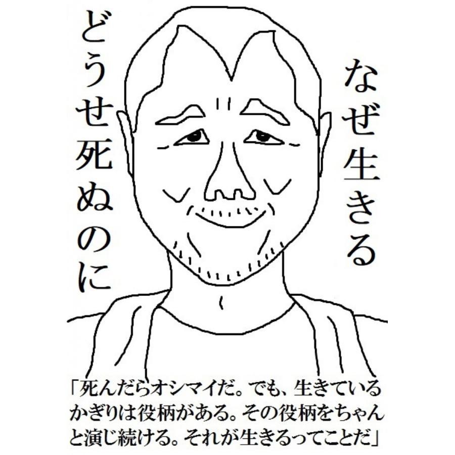 【初回50%OFFクーポン】どうせ死ぬのになぜ生きる名言顔事典123 電子書籍版 / 著:田中せいや|ebookjapan