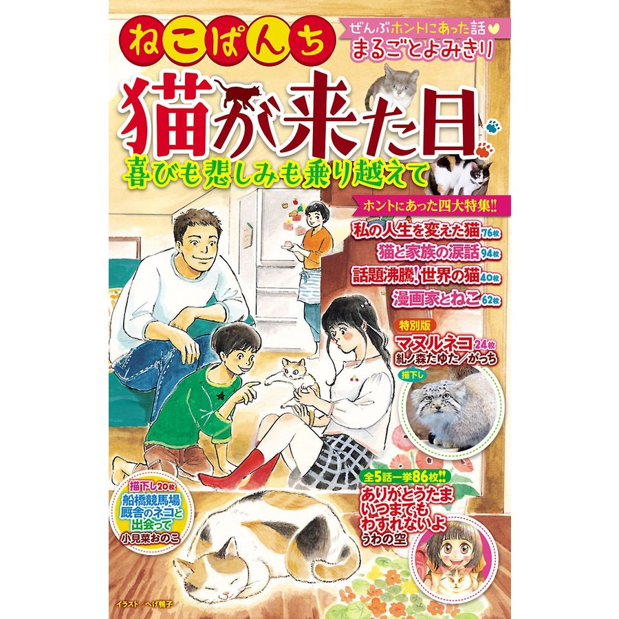 【初回50%OFFクーポン】ねこぱんち 猫が来た日 喜びも悲しみも乗り越えて 電子書籍版|ebookjapan