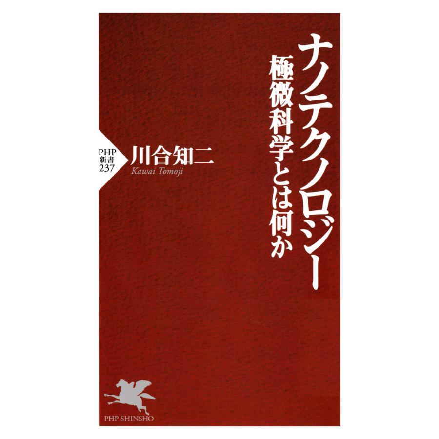 ナノテクノロジー 極微科学とは何か 電子書籍版 / 著:川合知二|ebookjapan
