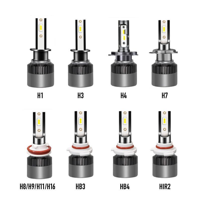 ヘッドライト LED 車 フォグランプ バルブ hi/lo H1 H3 H4 H7 H8 H9 H11 H16 HB3 HB4 HIR2 ポンつけ コンパクト|ec-consulting|15
