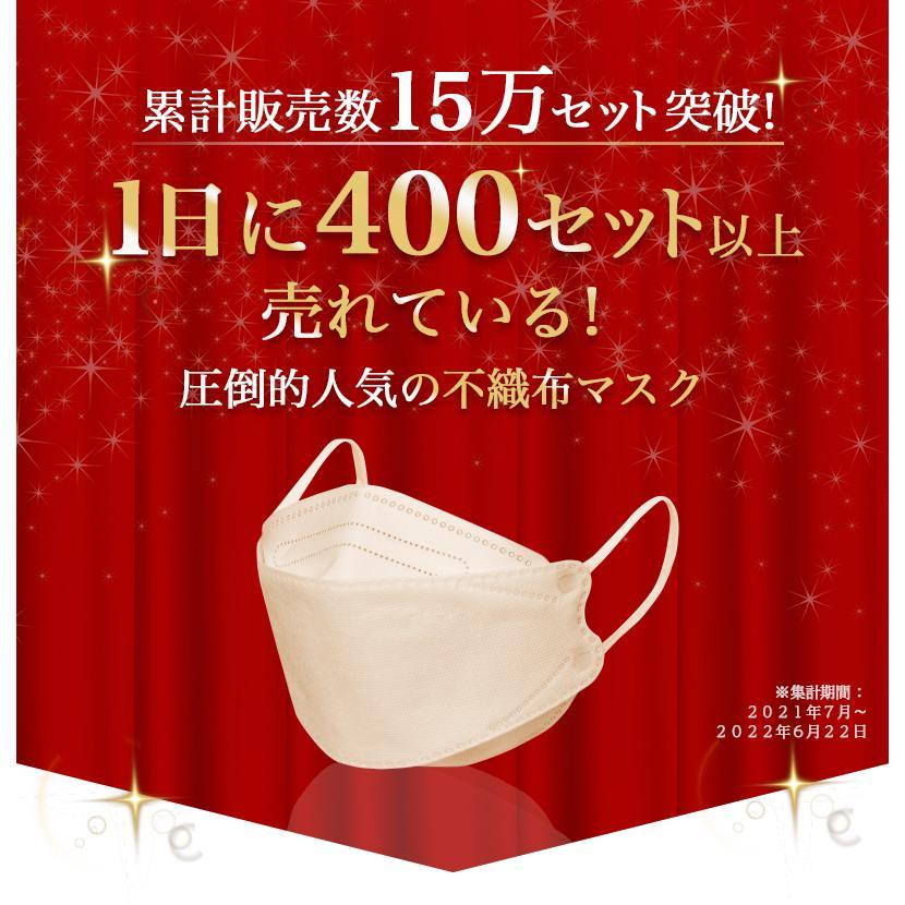 韓国マスク kf94 大きめ 小さめ 立体  効果 使い捨て 血色 がよく見える カラーマスク 50枚 おしゃれ  マスク 不織布 柄|ec-consulting|02