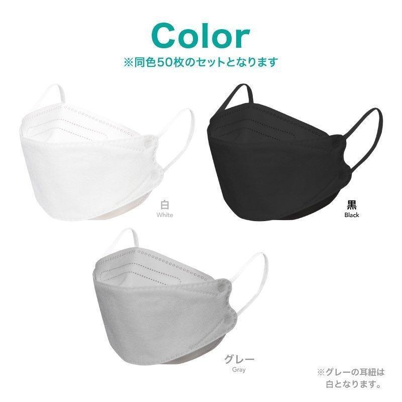 韓国マスク kf94 大きめ 小さめ 立体  効果 使い捨て 血色 がよく見える カラーマスク 50枚 おしゃれ  マスク 不織布 柄|ec-consulting|13