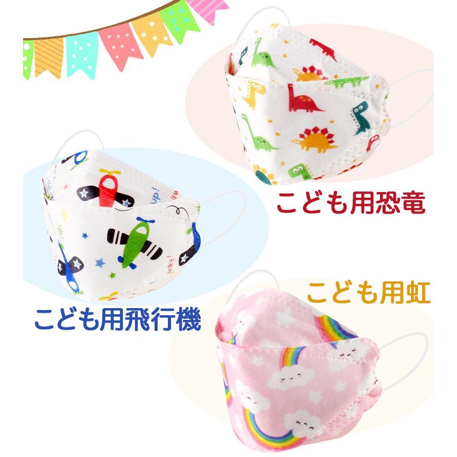 韓国マスク kf94 大きめ 小さめ 立体  効果 使い捨て 血色 がよく見える カラーマスク 50枚 おしゃれ  マスク 不織布 柄|ec-consulting|16
