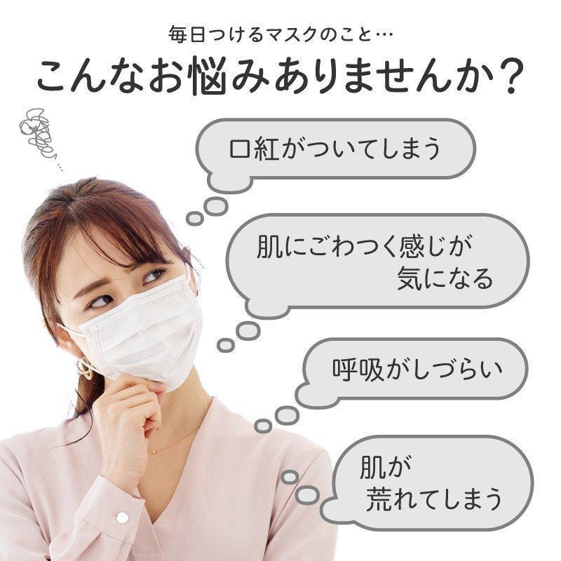 韓国マスク kf94 大きめ 小さめ 立体  効果 使い捨て 血色 がよく見える カラーマスク 50枚 おしゃれ  マスク 不織布 柄|ec-consulting|06