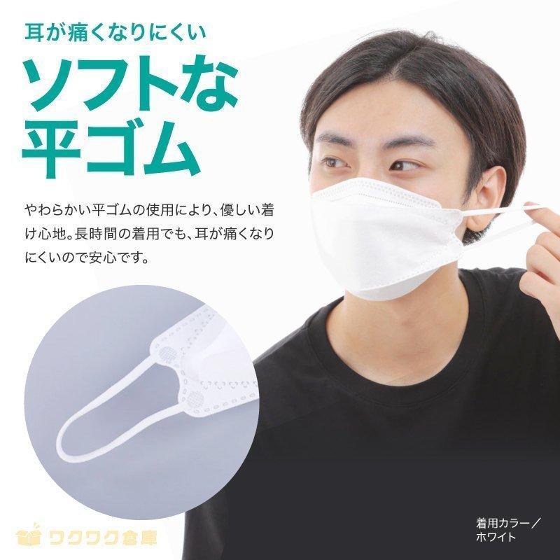 韓国マスク kf94 大きめ 小さめ 立体  効果 使い捨て 血色 がよく見える カラーマスク 50枚 おしゃれ  マスク 不織布 柄|ec-consulting|10