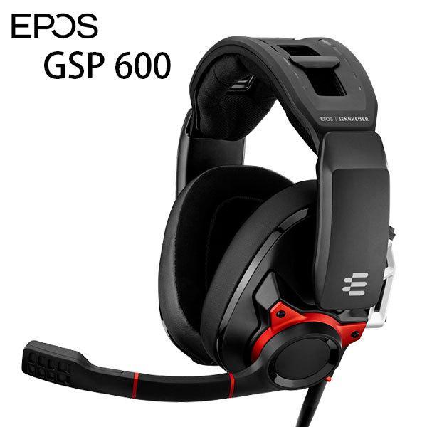 EPOS イーポス SENNHEISER GSP 600 密閉型ゲーミングヘッドセット 1000244 ネコポス不可 ec-kitcut