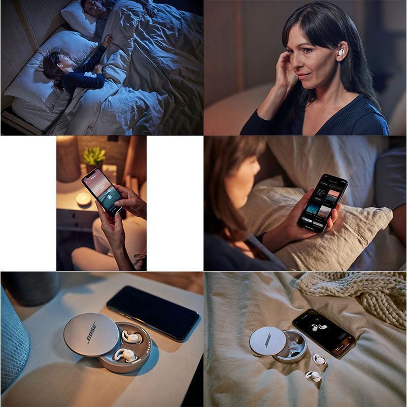 BOSE ボーズ Sleepbuds II 睡眠専用 完全ワイヤレス ノイズマスキング イヤープラグ Bose Sleepbuds II ネコポス不可|ec-kitcut|03