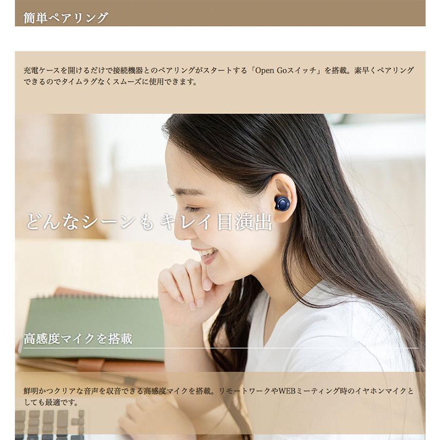 完全ワイヤレス イヤホン 独立 M-SOUNDS MS-TW22 Bluetooth 5.1対応 IP54 防水 完全ワイヤレスイヤホン  エムサウンド ネコポス不可|ec-kitcut|09